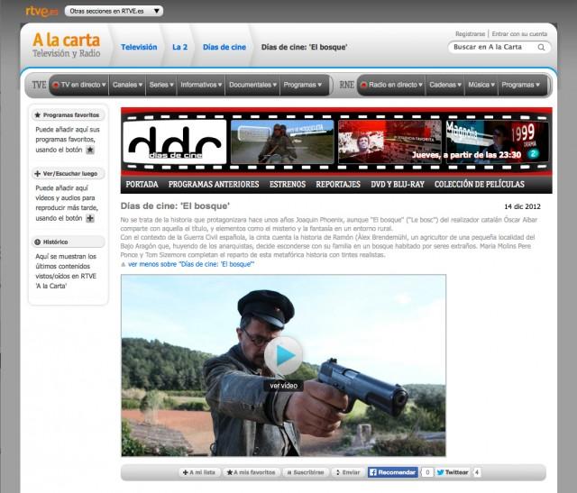 RTVE - Dic. 2012