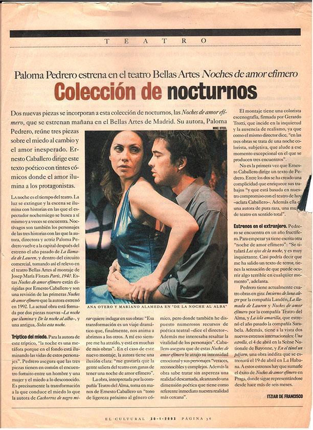 Ana Otero - Prensa