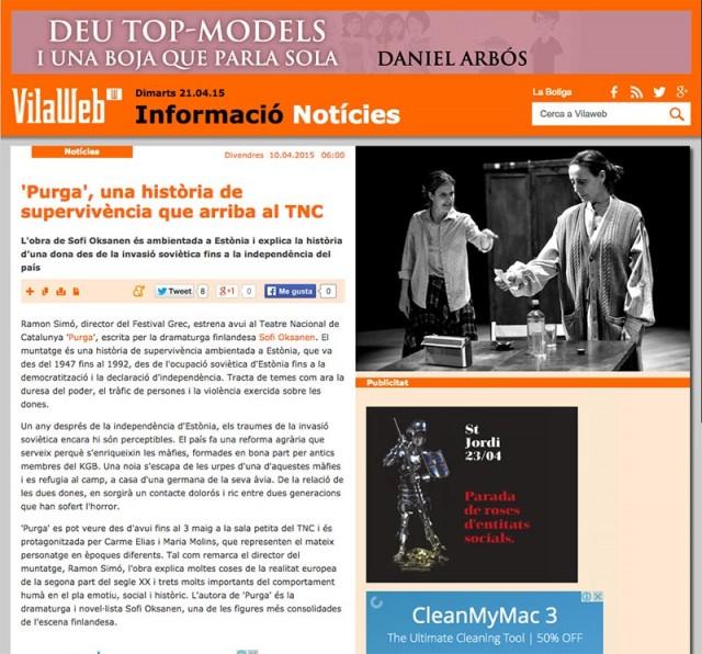 VILA WEB - Abril 2015