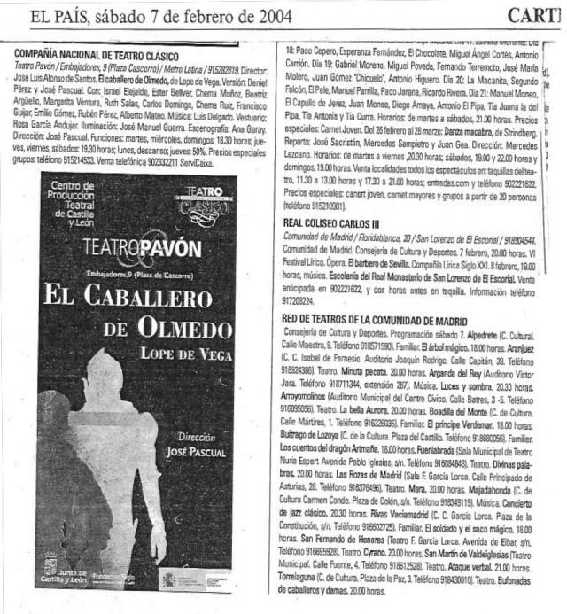 EL PAÍS - 2004