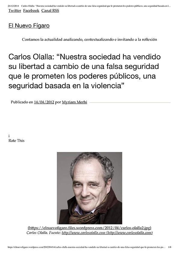 EL NUEVO FÍGARO - Abr. 2012