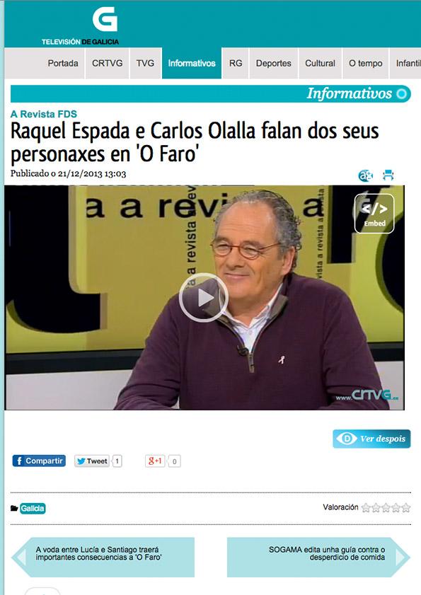 TV DE GALICIA - Dic. 2013