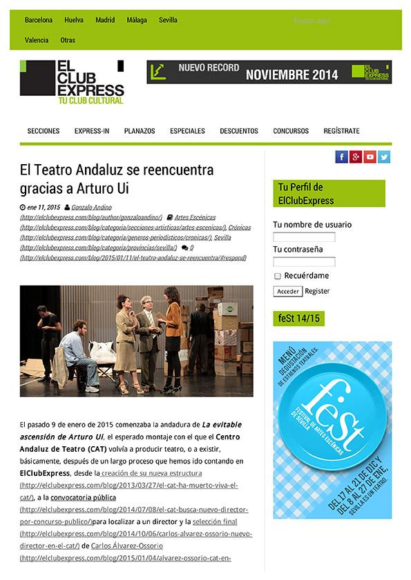 EL CLUB EXPRES - Enero 2015