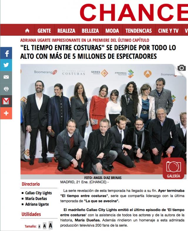 EUROPAPRESS - Enero 2014