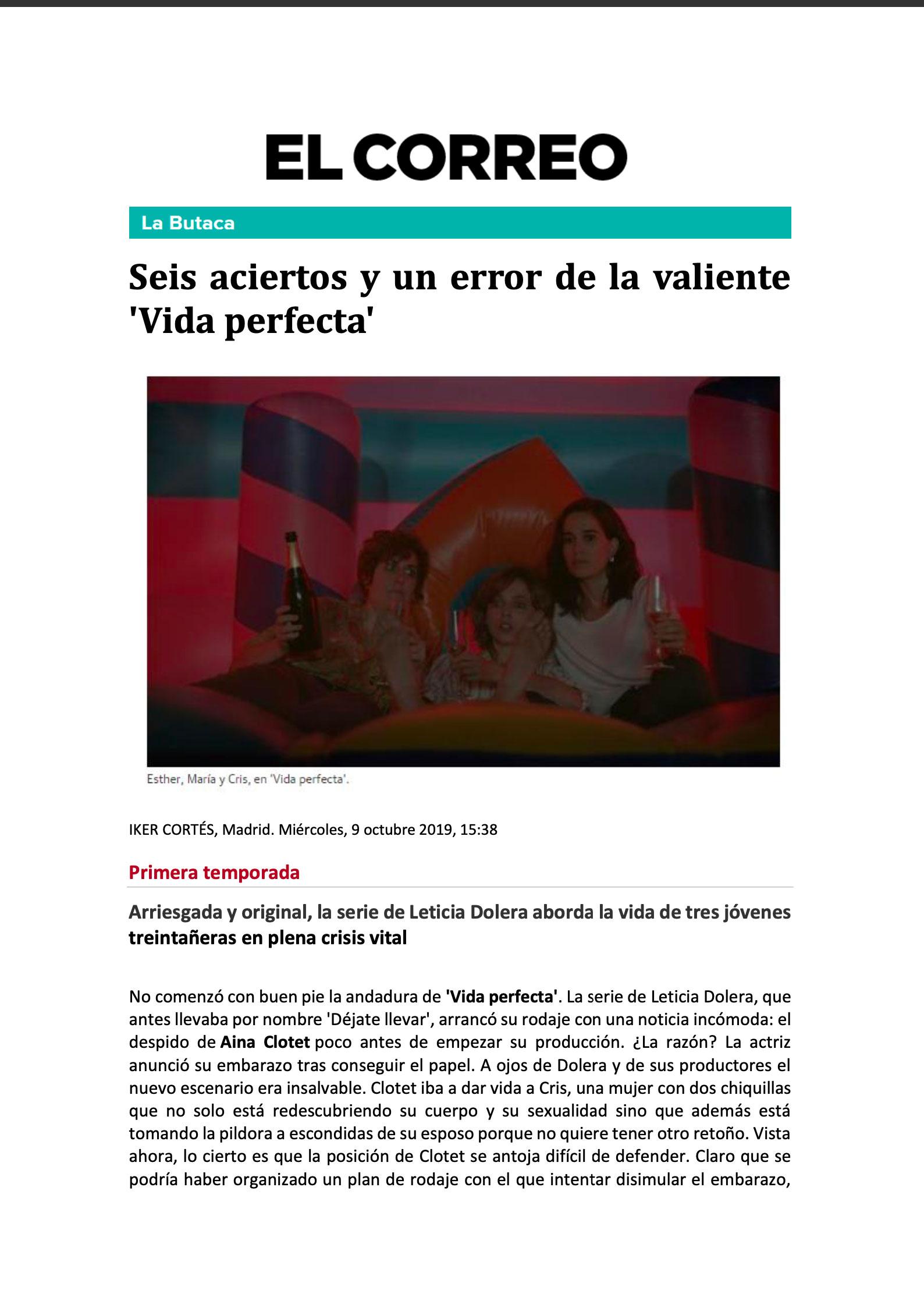 EL CORREO - Oct. 2019