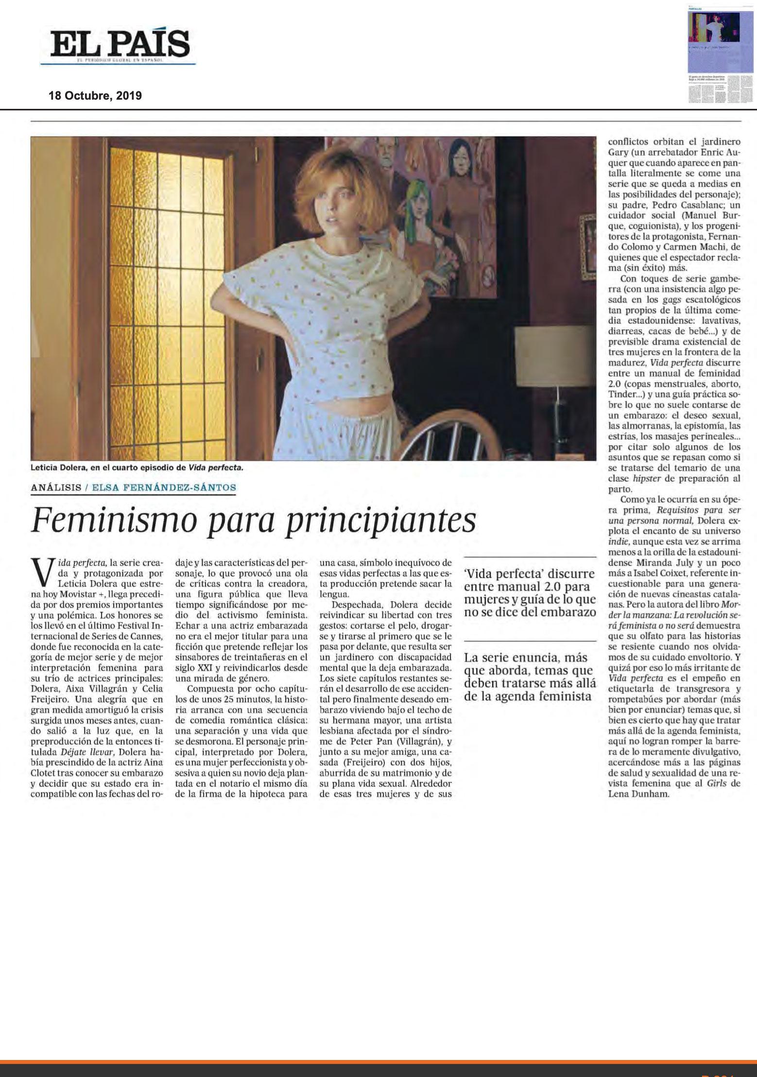 EL PAIS - Oct. 2019