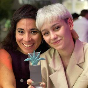 María Romanillos: Premio de mejor actriz por LAS CONSECUENCIAS